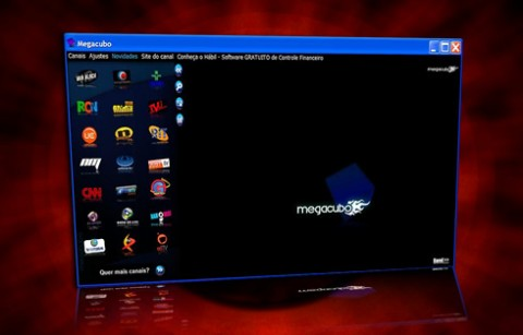 Megacubo screenshot